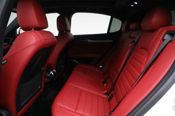 New 2021 Alfa Romeo Stelvio Ti Sport Q4 for sale Sold at Alfa Romeo of Westport in Westport CT 06880 23