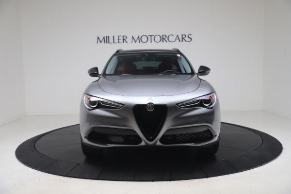 New 2021 Alfa Romeo Stelvio Ti Q4 for sale $54,400 at Alfa Romeo of Westport in Westport CT 06880 12