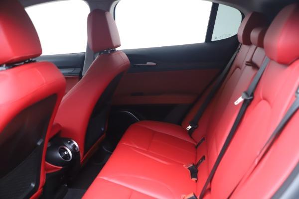 New 2021 Alfa Romeo Stelvio Ti Q4 for sale $54,400 at Alfa Romeo of Westport in Westport CT 06880 14