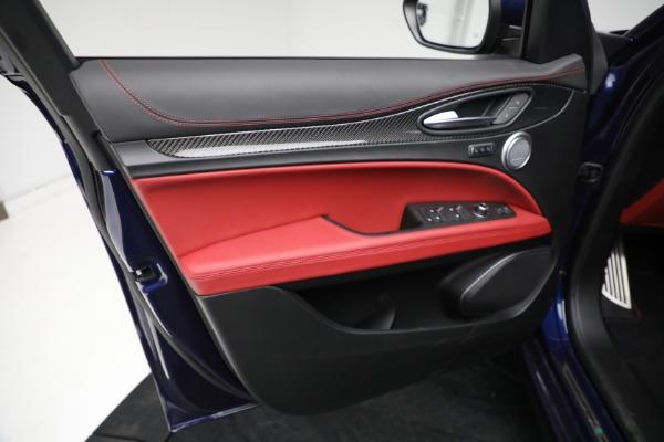 New 2021 Alfa Romeo Stelvio Quadrifoglio for sale $88,550 at Alfa Romeo of Westport in Westport CT 06880 16