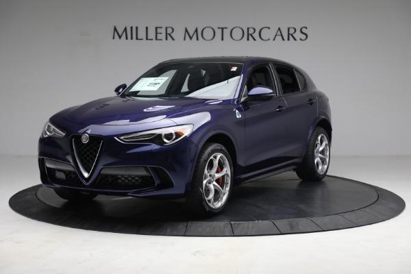 New 2021 Alfa Romeo Stelvio Quadrifoglio for sale $88,550 at Alfa Romeo of Westport in Westport CT 06880 2