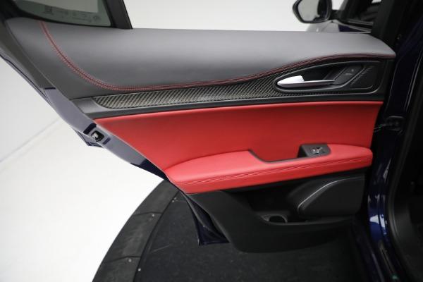 New 2021 Alfa Romeo Stelvio Quadrifoglio for sale $88,550 at Alfa Romeo of Westport in Westport CT 06880 20
