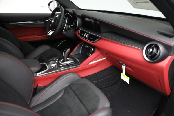 New 2021 Alfa Romeo Stelvio Quadrifoglio for sale $88,550 at Alfa Romeo of Westport in Westport CT 06880 22
