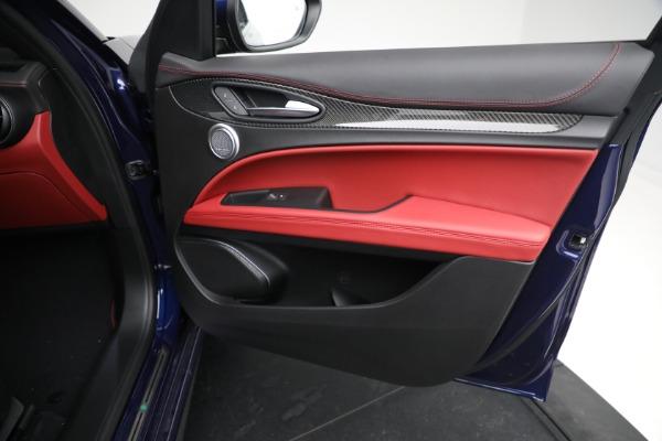 New 2021 Alfa Romeo Stelvio Quadrifoglio for sale $88,550 at Alfa Romeo of Westport in Westport CT 06880 23