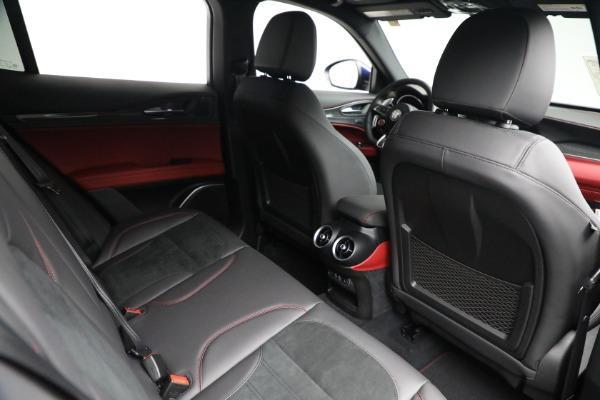 New 2021 Alfa Romeo Stelvio Quadrifoglio for sale $88,550 at Alfa Romeo of Westport in Westport CT 06880 24