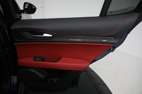 New 2021 Alfa Romeo Stelvio Quadrifoglio for sale $88,550 at Alfa Romeo of Westport in Westport CT 06880 26