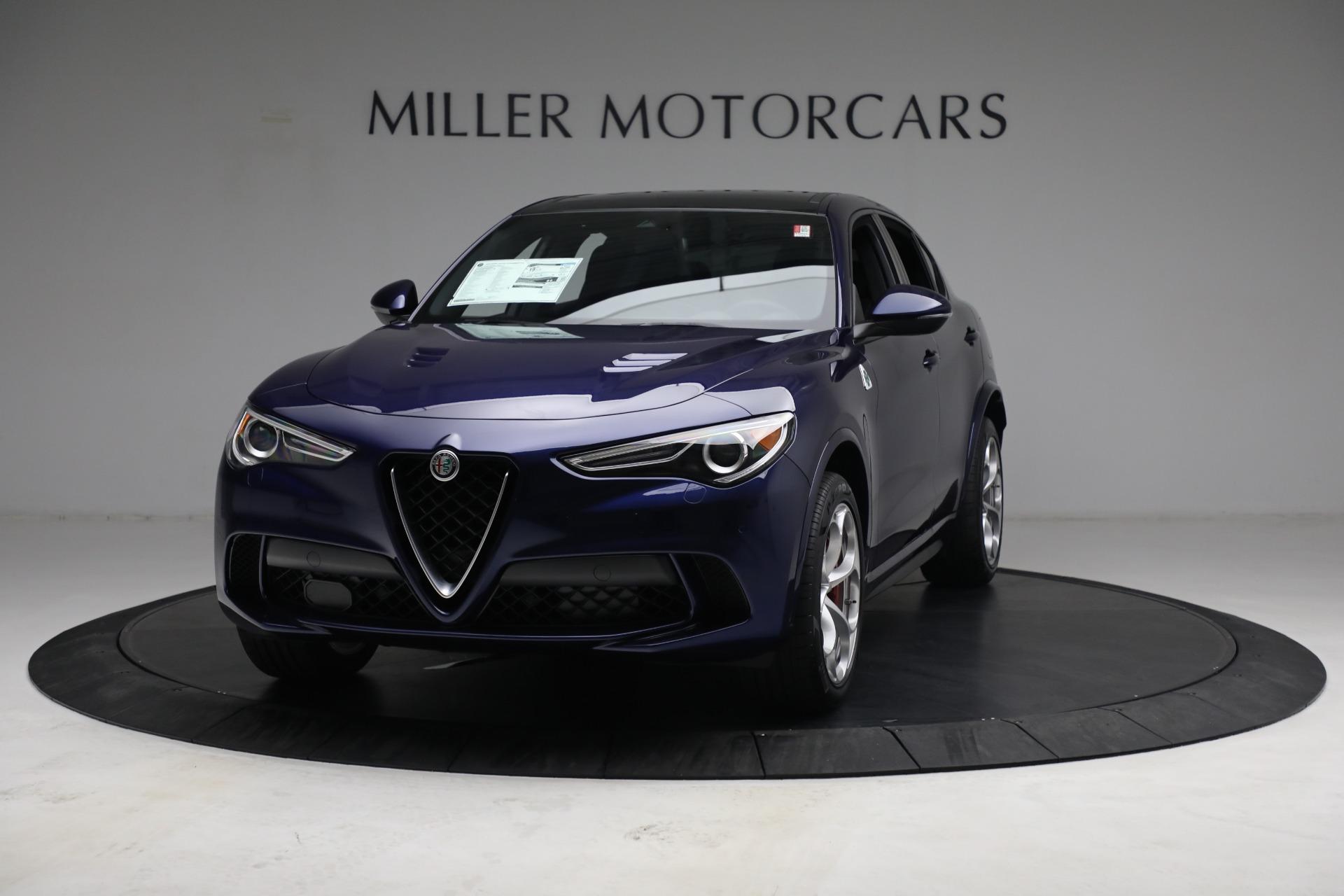 New 2021 Alfa Romeo Stelvio Quadrifoglio for sale $88,550 at Alfa Romeo of Westport in Westport CT 06880 1