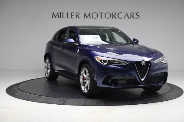 New 2021 Alfa Romeo Stelvio Quadrifoglio for sale $88,550 at Alfa Romeo of Westport in Westport CT 06880 10