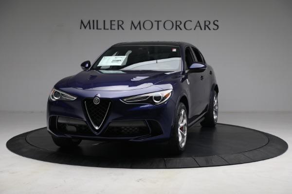 New 2021 Alfa Romeo Stelvio Quadrifoglio for sale $88,550 at Alfa Romeo of Westport in Westport CT 06880 12