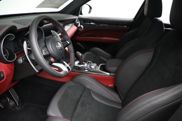 New 2021 Alfa Romeo Stelvio Quadrifoglio for sale $88,550 at Alfa Romeo of Westport in Westport CT 06880 13