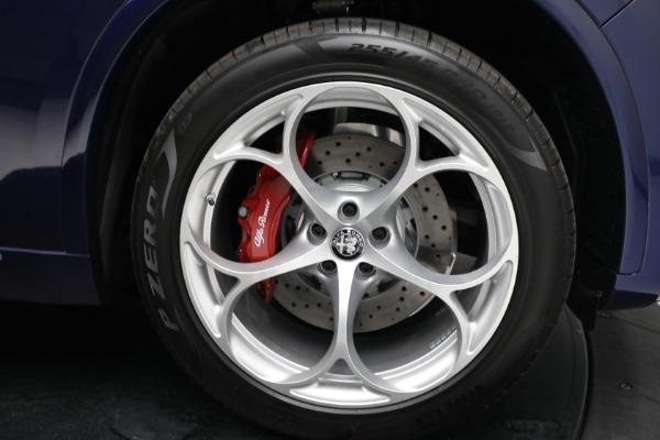 New 2021 Alfa Romeo Stelvio Quadrifoglio for sale $88,550 at Alfa Romeo of Westport in Westport CT 06880 27