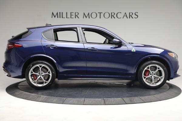 New 2021 Alfa Romeo Stelvio Quadrifoglio for sale $88,550 at Alfa Romeo of Westport in Westport CT 06880 8