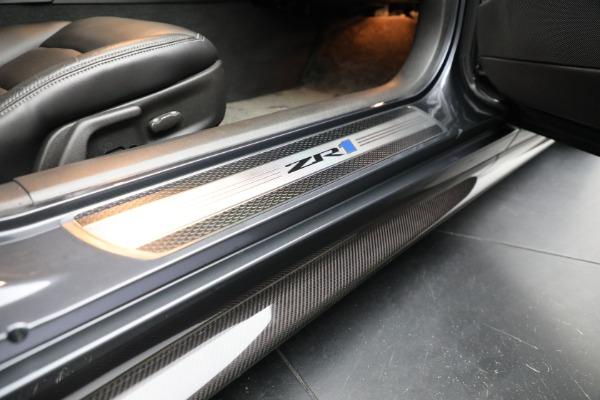 Used 2010 Chevrolet Corvette ZR1 for sale Sold at Alfa Romeo of Westport in Westport CT 06880 19