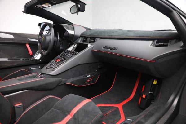Used 2017 Lamborghini Aventador LP 750-4 SV for sale $599,900 at Alfa Romeo of Westport in Westport CT 06880 22