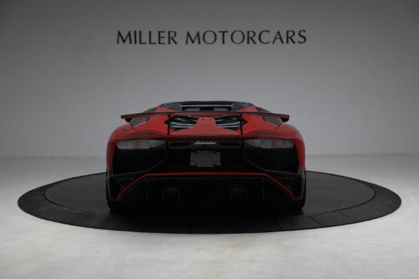 Used 2017 Lamborghini Aventador LP 750-4 SV for sale $599,900 at Alfa Romeo of Westport in Westport CT 06880 6
