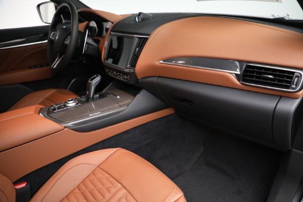 New 2021 Maserati Levante S GranSport for sale $112,899 at Alfa Romeo of Westport in Westport CT 06880 19
