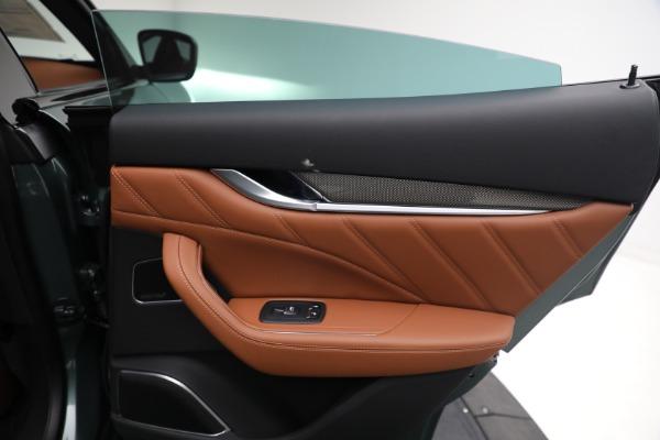 New 2021 Maserati Levante S GranSport for sale $112,899 at Alfa Romeo of Westport in Westport CT 06880 24