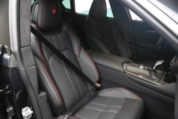 New 2021 Maserati Levante S GranSport for sale $105,799 at Alfa Romeo of Westport in Westport CT 06880 19