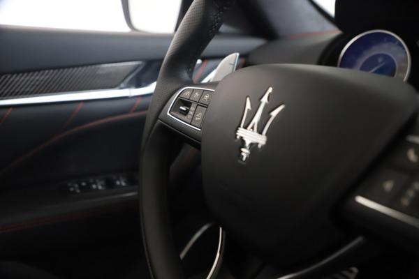 New 2021 Maserati Levante S GranSport for sale $105,799 at Alfa Romeo of Westport in Westport CT 06880 23