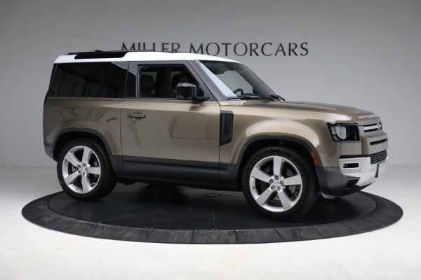 Used 2021 Land Rover Defender 90 First Edition for sale Sold at Alfa Romeo of Westport in Westport CT 06880 10