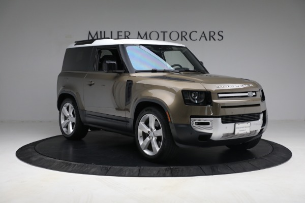 Used 2021 Land Rover Defender 90 First Edition for sale Sold at Alfa Romeo of Westport in Westport CT 06880 11