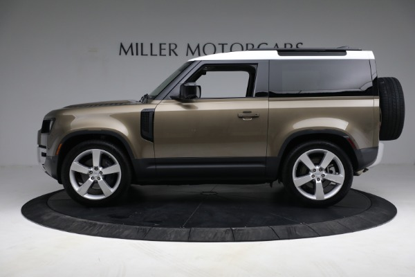 Used 2021 Land Rover Defender 90 First Edition for sale Sold at Alfa Romeo of Westport in Westport CT 06880 13