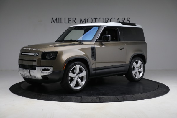 Used 2021 Land Rover Defender 90 First Edition for sale Sold at Alfa Romeo of Westport in Westport CT 06880 2