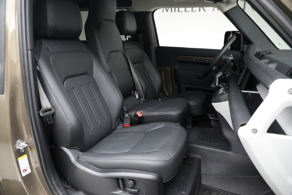 Used 2021 Land Rover Defender 90 First Edition for sale Sold at Alfa Romeo of Westport in Westport CT 06880 23