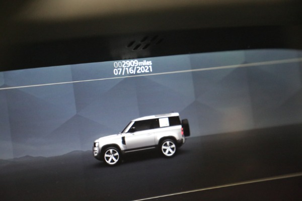 Used 2021 Land Rover Defender 90 First Edition for sale Sold at Alfa Romeo of Westport in Westport CT 06880 24