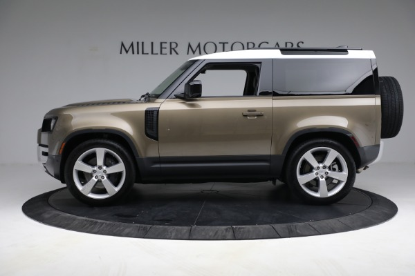 Used 2021 Land Rover Defender 90 First Edition for sale Sold at Alfa Romeo of Westport in Westport CT 06880 3