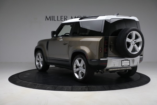 Used 2021 Land Rover Defender 90 First Edition for sale Sold at Alfa Romeo of Westport in Westport CT 06880 5