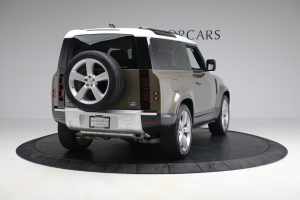 Used 2021 Land Rover Defender 90 First Edition for sale Sold at Alfa Romeo of Westport in Westport CT 06880 7
