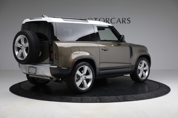 Used 2021 Land Rover Defender 90 First Edition for sale Sold at Alfa Romeo of Westport in Westport CT 06880 8