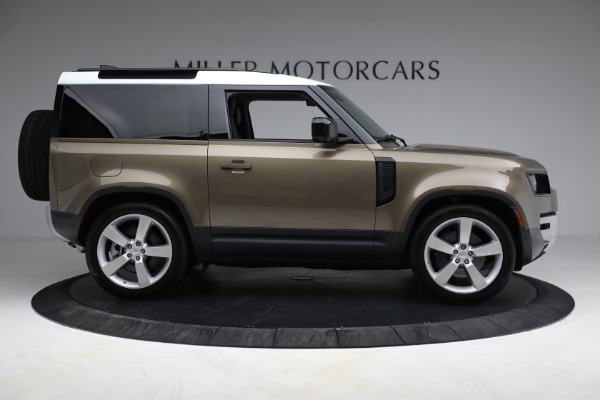 Used 2021 Land Rover Defender 90 First Edition for sale Sold at Alfa Romeo of Westport in Westport CT 06880 9