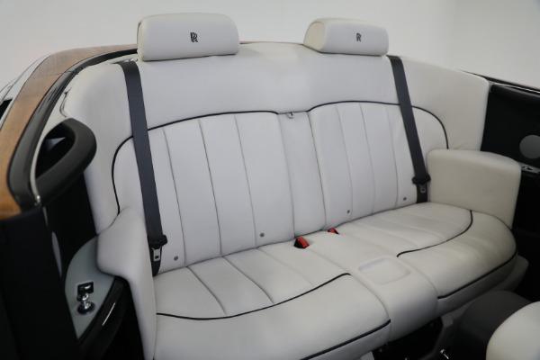 Used 2017 Rolls-Royce Phantom Drophead Coupe for sale $379,900 at Alfa Romeo of Westport in Westport CT 06880 21
