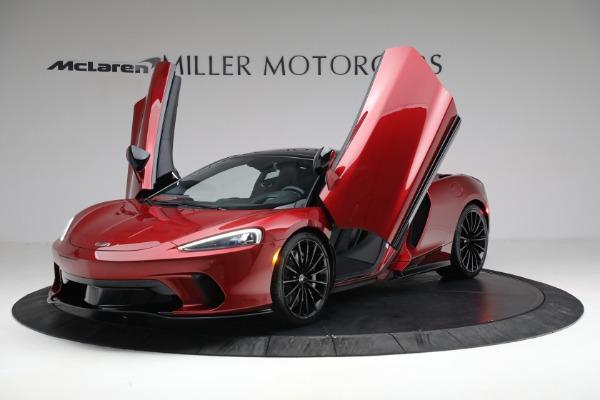 New 2021 McLaren GT for sale $217,275 at Alfa Romeo of Westport in Westport CT 06880 13