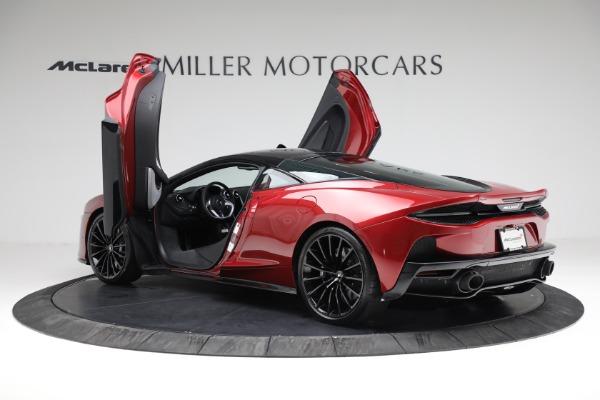 New 2021 McLaren GT for sale $217,275 at Alfa Romeo of Westport in Westport CT 06880 15