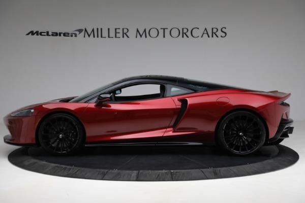 New 2021 McLaren GT for sale $217,275 at Alfa Romeo of Westport in Westport CT 06880 3