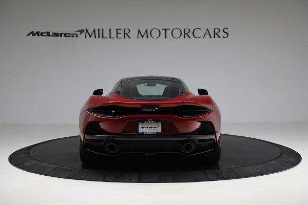 New 2021 McLaren GT for sale $217,275 at Alfa Romeo of Westport in Westport CT 06880 6