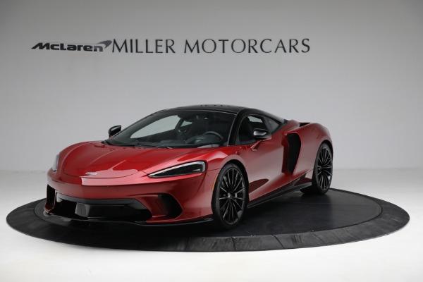 New 2021 McLaren GT for sale $217,275 at Alfa Romeo of Westport in Westport CT 06880 1