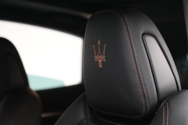 New 2021 Maserati Levante S GranSport for sale $105,849 at Alfa Romeo of Westport in Westport CT 06880 20