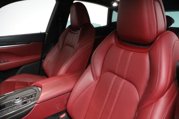 Used 2018 Maserati Levante GranSport for sale Call for price at Alfa Romeo of Westport in Westport CT 06880 10