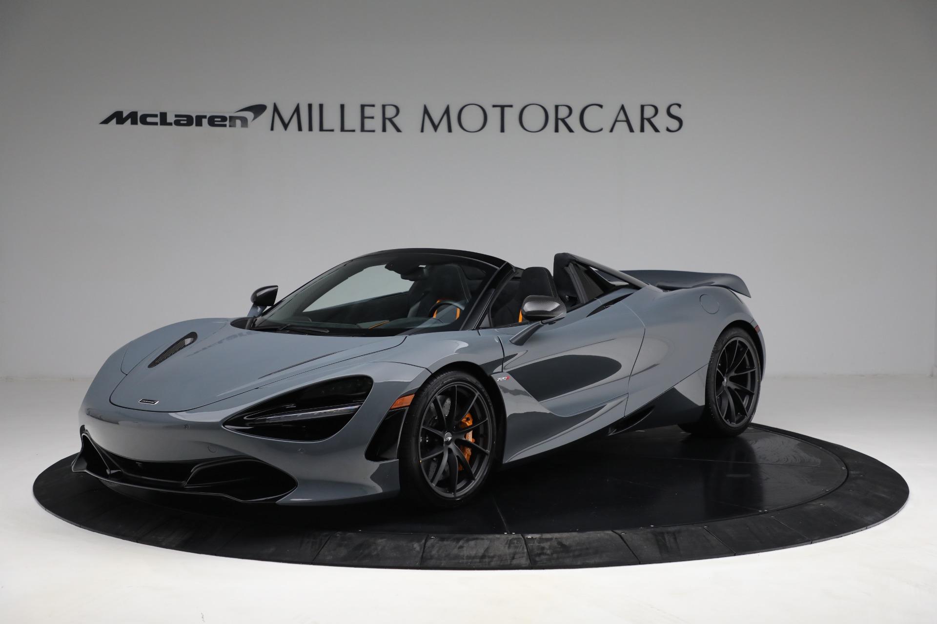 New 2021 McLaren 720S Spider for sale $380,553 at Alfa Romeo of Westport in Westport CT 06880 1
