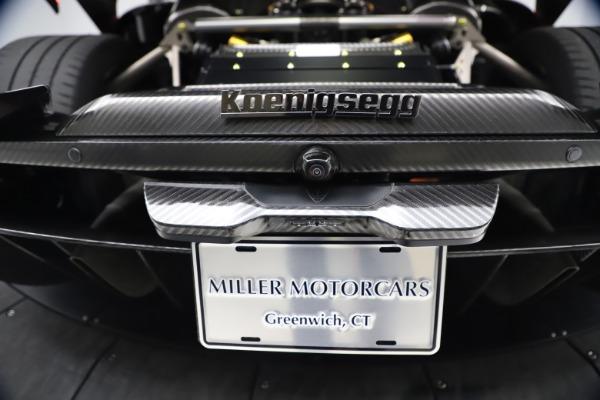 Used 2019 Koenigsegg Regera for sale Call for price at Alfa Romeo of Westport in Westport CT 06880 23