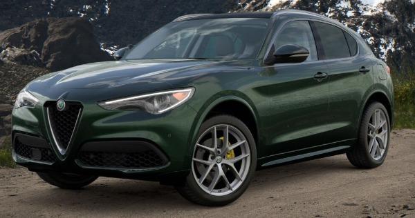 New 2021 Alfa Romeo Stelvio Ti for sale $57,750 at Alfa Romeo of Westport in Westport CT 06880 1