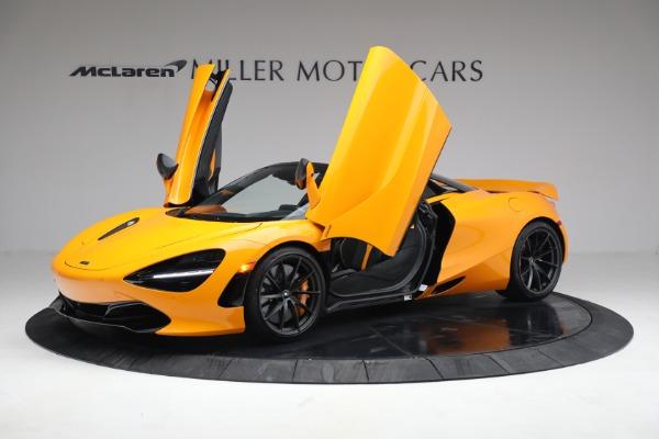 New 2021 McLaren 720S Spider for sale $378,110 at Alfa Romeo of Westport in Westport CT 06880 14