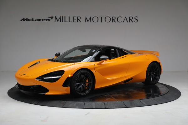 New 2021 McLaren 720S Spider for sale $378,110 at Alfa Romeo of Westport in Westport CT 06880 15