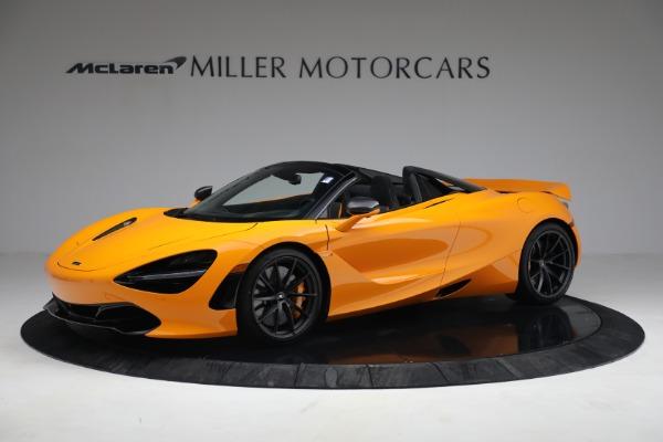 New 2021 McLaren 720S Spider for sale $378,110 at Alfa Romeo of Westport in Westport CT 06880 2