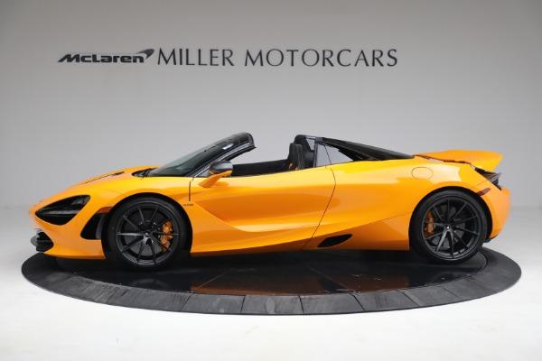 New 2021 McLaren 720S Spider for sale $378,110 at Alfa Romeo of Westport in Westport CT 06880 3