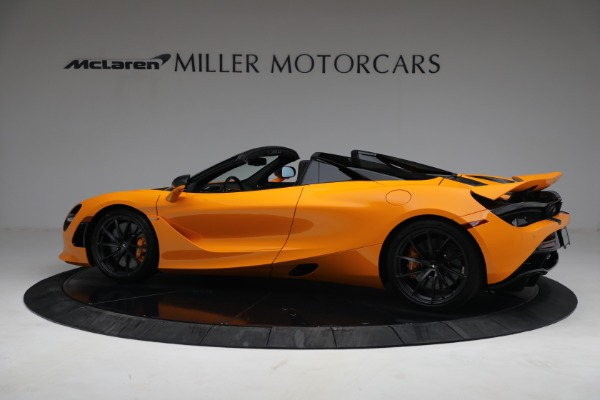 New 2021 McLaren 720S Spider for sale $378,110 at Alfa Romeo of Westport in Westport CT 06880 4